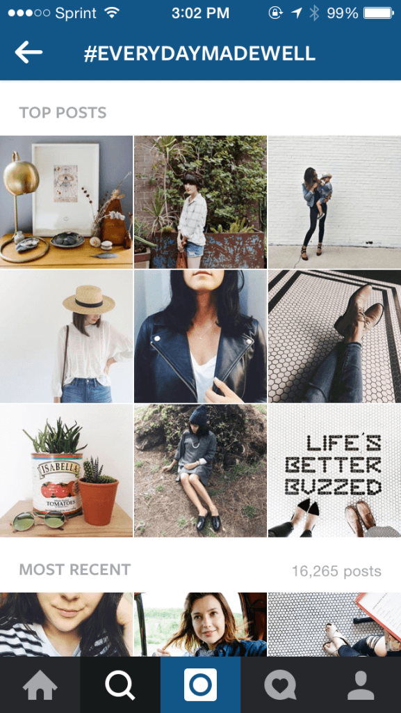 Madewell's Instagram contest results