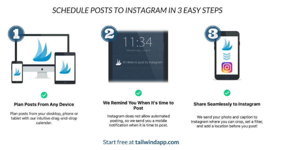 How to Use Tailwind for Instagram