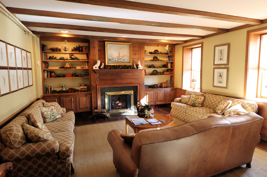 Lobby At The Golden Plough Inn in Bucks County, PA hotel in Peddlers Village