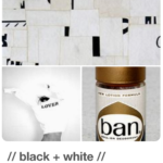 Black + White Pinterest Board by Eric Kass