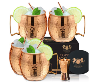 Moscow Mule Cups Set