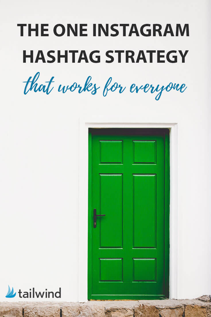 5 simple steps to create an Instagram hashtag strategy that will work for anyone!