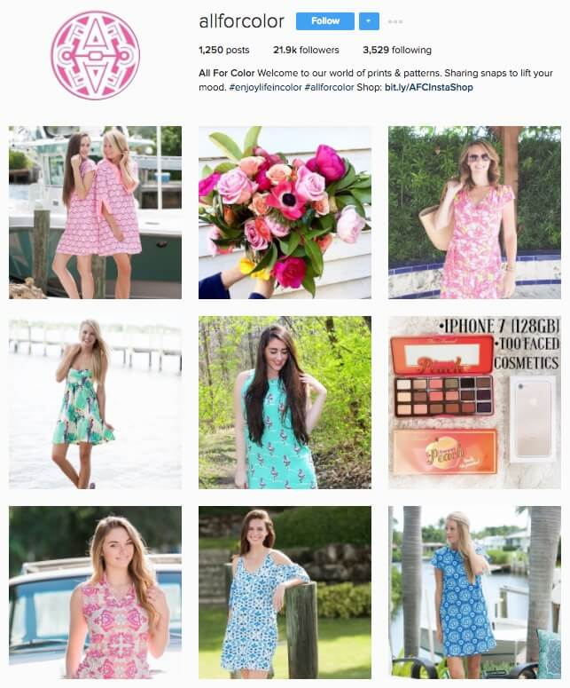 Allforcolor Posted to Instagram 6 Times More Often and Grew Likes 987 Percent in Three Months
