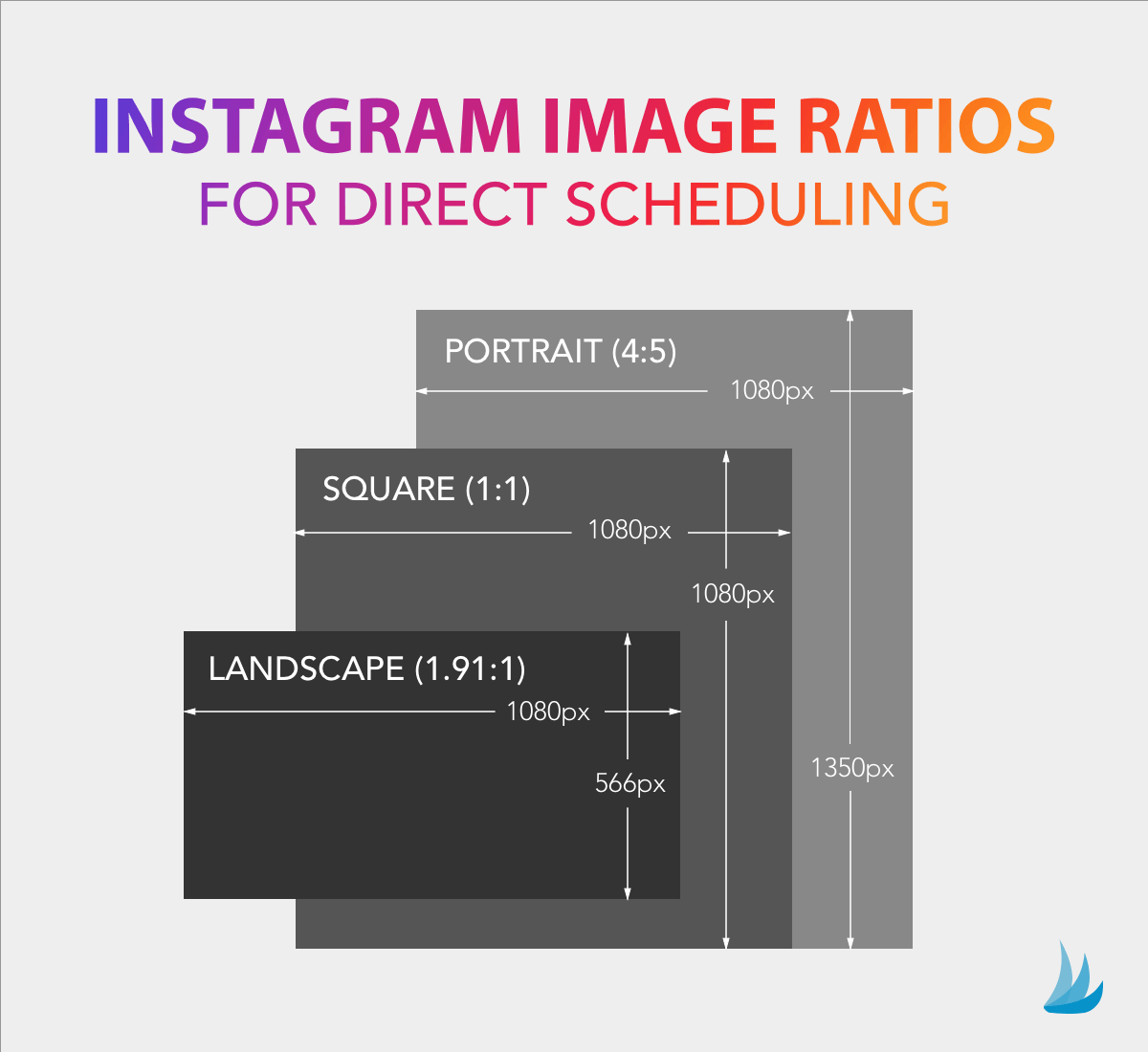 Instagram Image Ratios for Direct Scheduling