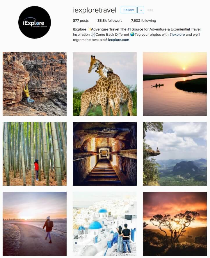 iexploretravel-grew-by-17181-instagram-followers-in-three-months-a-225-percent-increase