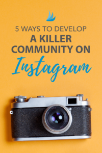 5 Ways to Develop a Killer Community on Instagram. The development of community is a vital part of growing any blog or business. Learn how to build a killer community on Instagram with these 5 tips. #instagrammarketing #instagrammarketingtips #instagramstrategy #marketingstrategy