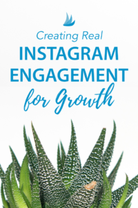 Creating Real Instagram Engagement for Growth #instagrammarketing