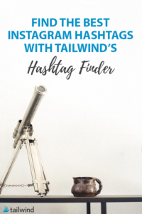 Thanks to features like Hashtag Finder Tailwind for Instagram members have been growing their Likes per Post five time faster than non-members. Find the Best Instagram Hashtags with Tailwind's Hashtag Finder.