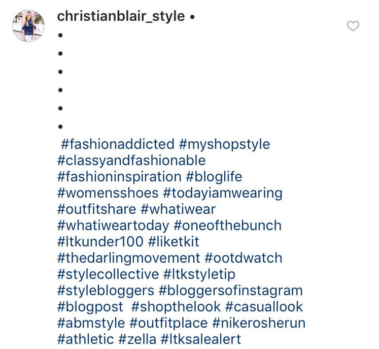 Visit Instagram posts to research new hashtags