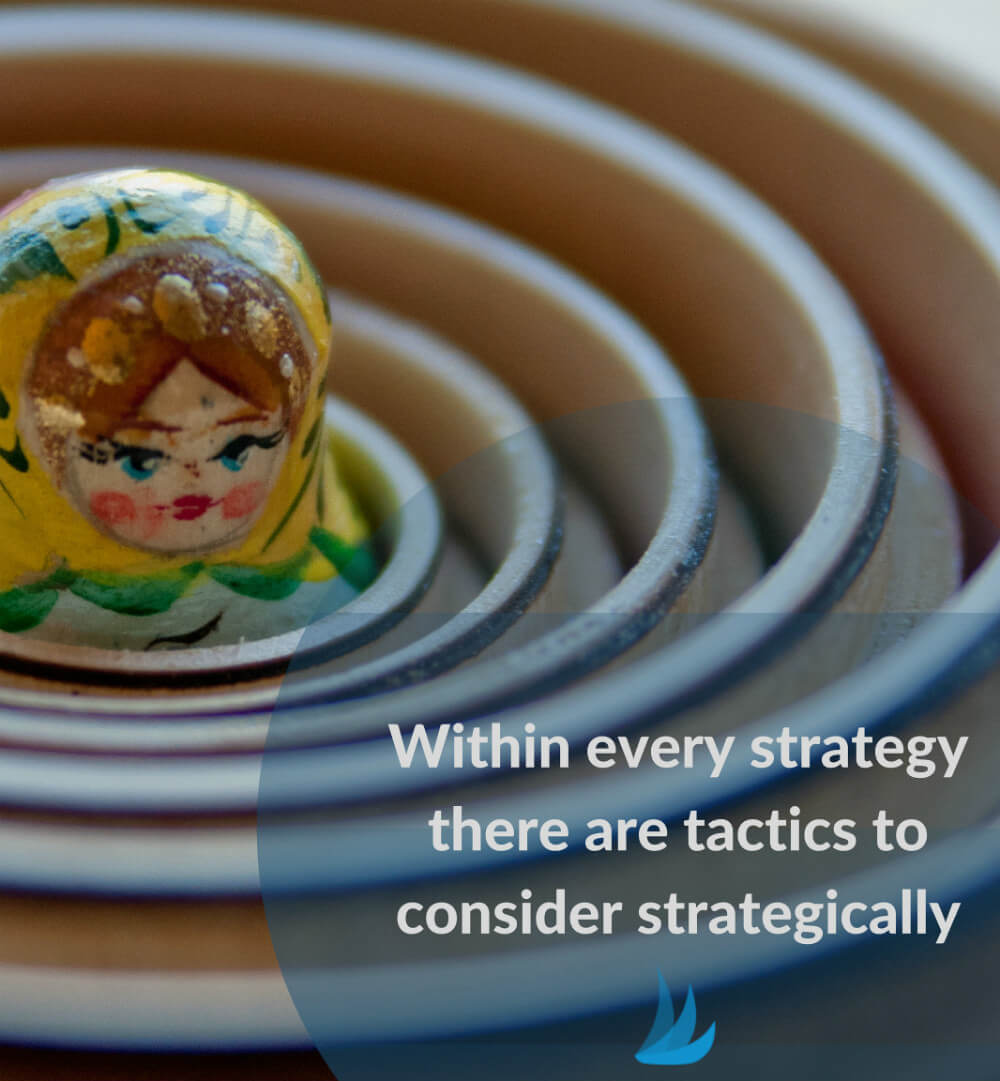 within every strategy there are tactics by tailwind