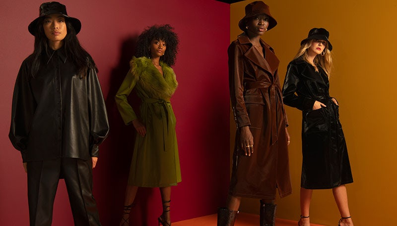 Topshop Autumn/Winter 2020 campaign. Topshop.