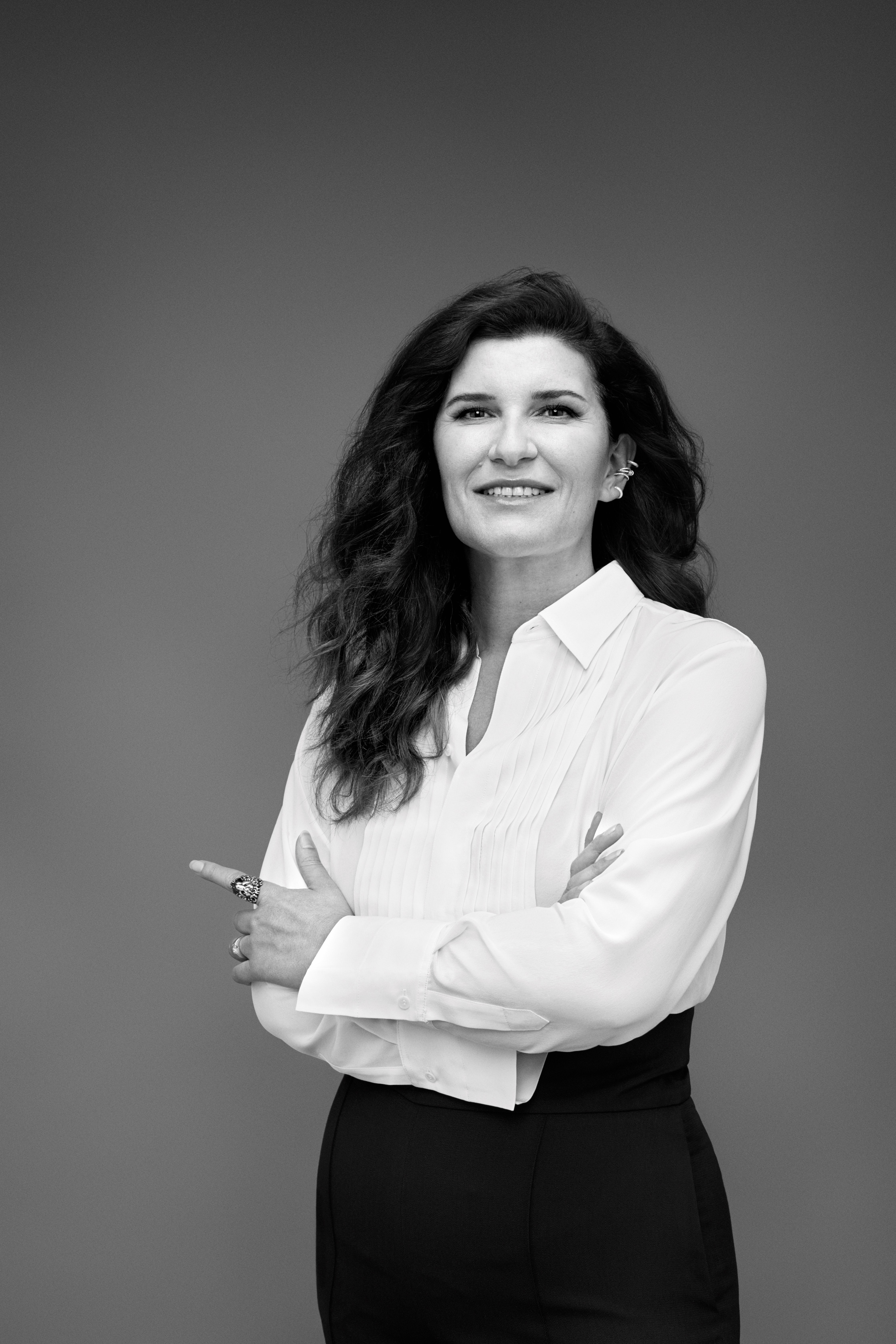 Global brand president Delphine Viguier became the first woman to lead L'Oréal Paris since its founding in 1909. L'Oréal.