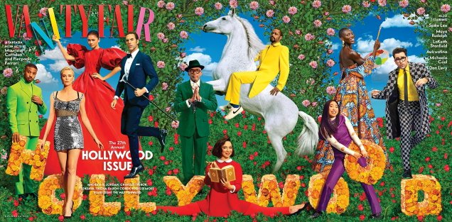Vanity Fair 'The Hollywood Issue' 2021 by Maurizio Cattelan & Pierpaolo Ferrari