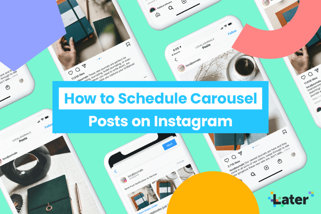 How to Schedule Carousel Posts on Instagram