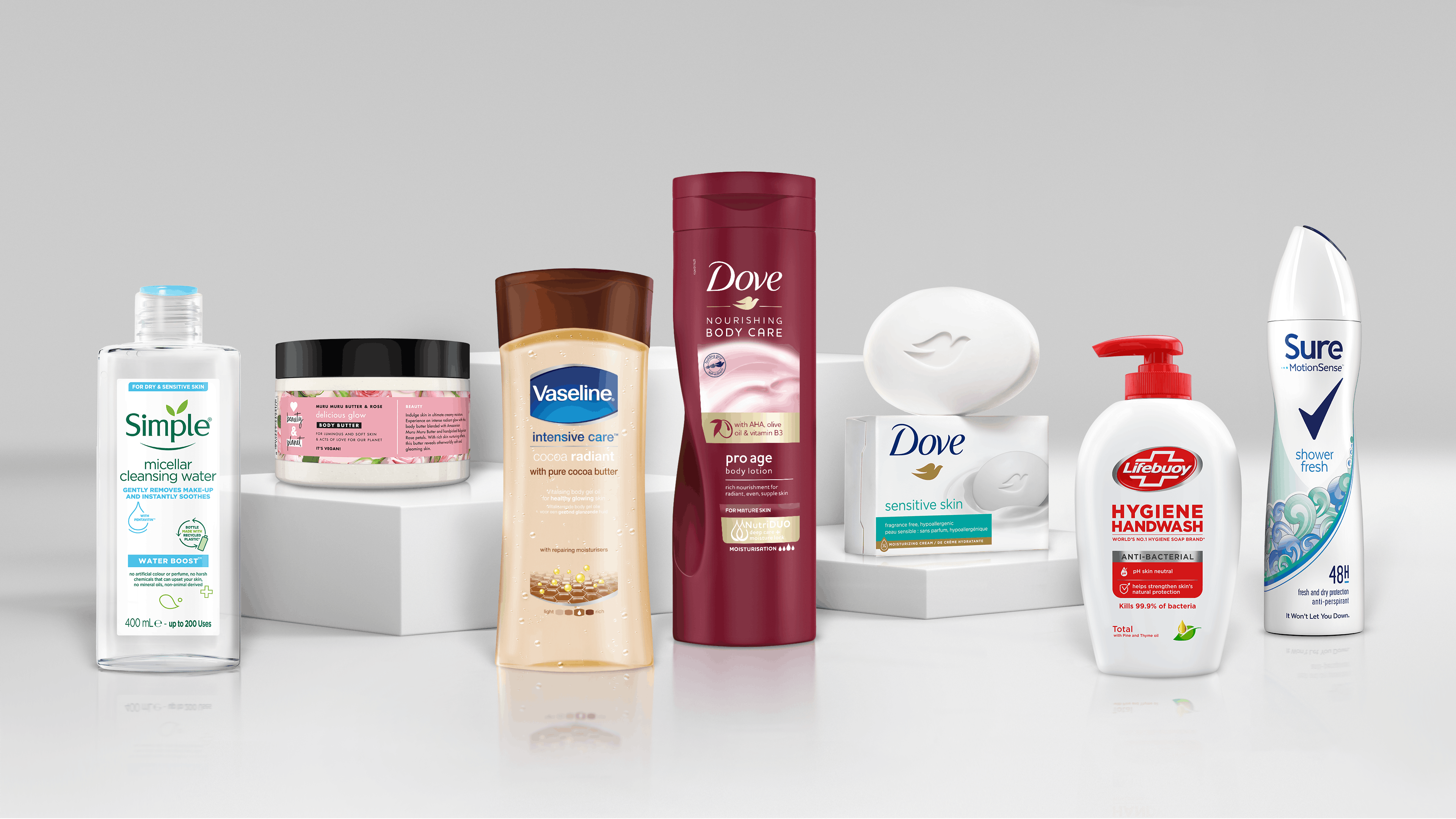 Unilever's products will no longer feature the word