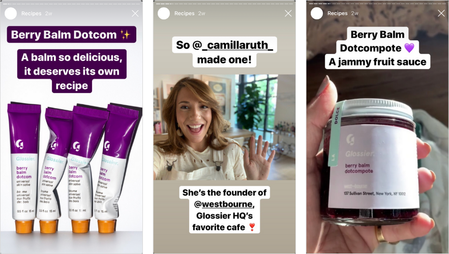 creative instagram stories takeover example