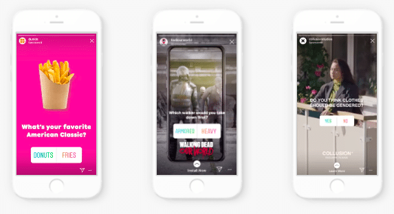 get more Instagram followers by using interactive features like polls