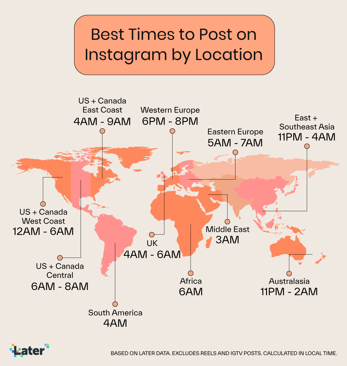 best time to post by location
